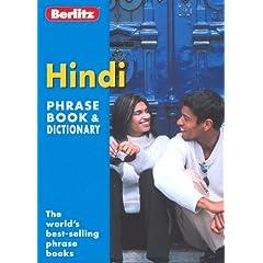 Berlitz Hindi Phrase Book And Dictionary