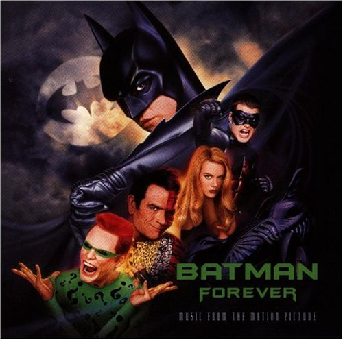 Original album cover of Batman Forever: Music From The Motion Picture by Various Artists