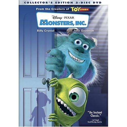 Корпорация монстров / Monsters, Inc. (Пит Доктер / Pete Docter) [2001 г., мультфильм, приключения,комедия, DVD5 (сжатый)] NTSC 16:9 дубляж, MVO, Eng + rus, eng sub