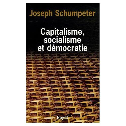 Capitalisme, socialisme et démocratie (1939)