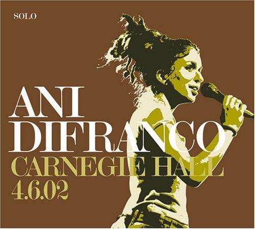Ani Difranco - Carnegie Hall - 4/6/02 - Zortam Music