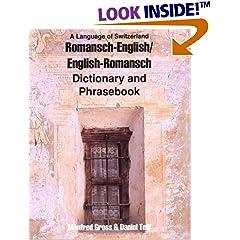 Romansh-English/English-Romansh Dictionary