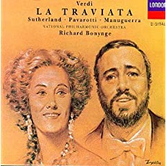 Verdi - La Traviata / Sutherland, Pavarotti, Manuguerra, NPO, Bonynge