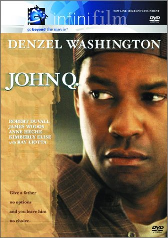 film review of john q John q is the kind of movie mad magazine prays for other reviews and since john has been downsized to 20 hours a week.