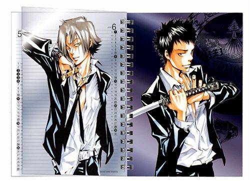 家庭教師ヒットマンREBORN!  2008コミックカレンダー B6・手帳型(26P)・スタンド付