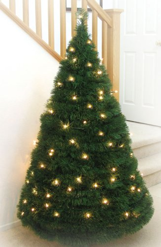 Collapsible Lighted Christmas Tree