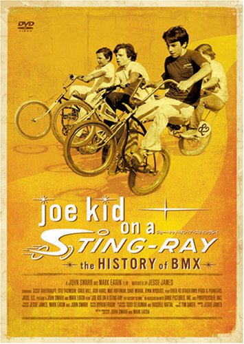 joe kid on a STING-RAY - the HISTORY of BMX