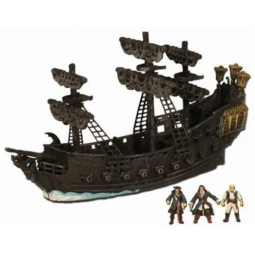 Pirates of the Caribbean: Dead Man's Chest Ultimate Black Pearl Pirate Ship Playset