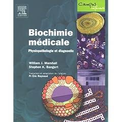 Biochimie Médicale, Physiopathologie et diagnostic dans Biochimie 51dC-GLCsdL._AA240_
