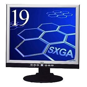 Amazon.co.jp�F Logitec 19�^�f�W�^��/�A�i���O�t�����j�^ LCM-T194AD/S(S): �G���N�g���j�N�X