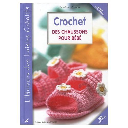 Crochet : Des chaussons pour bébé