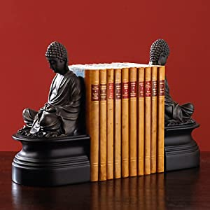 The Bombay Company Store: Buddha Bookends