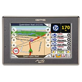 Mio C520 Portable Car Navigation System | GoSale :  mio gosale navigation vehicle