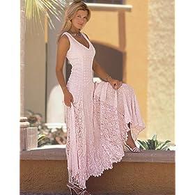 Classic Crinkled georgette dress