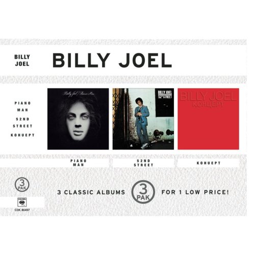 Billy Joel - The Collection: Piano Man/52nd Street/Kohuept: Live in Leningrad - Zortam Music