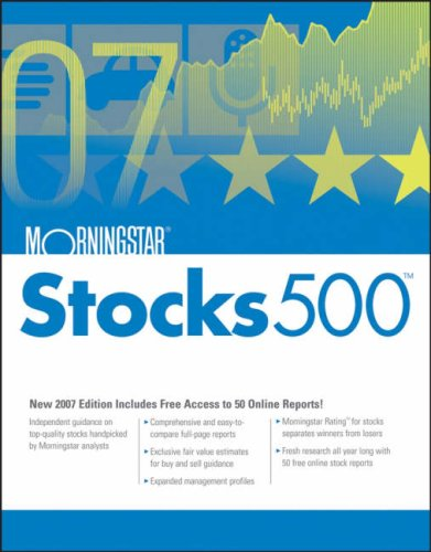 Morningstar Stocks 500: 2007