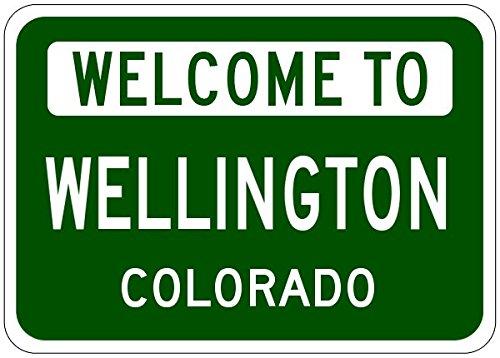 Wellington city sign