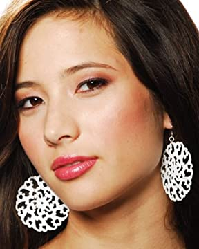 bebe.com : White Filigree EarringsNow 30% Off! from bebe.com