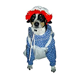 Raggedy Ann Halloween Costume for Dogs