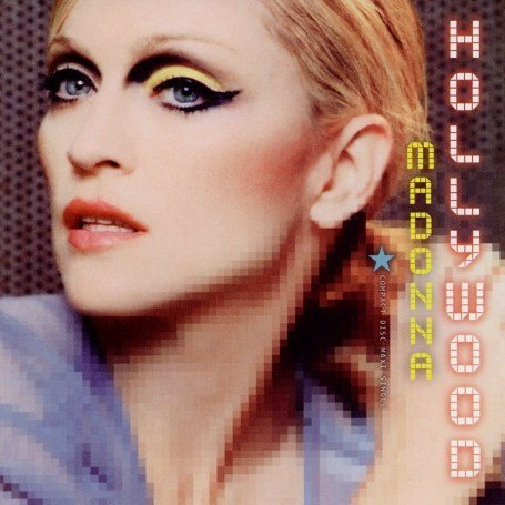 Original album cover of Hollywood by Madonna