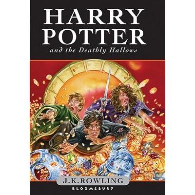 جلد انگلیسی کودکان کتاب 7 هری پاتر