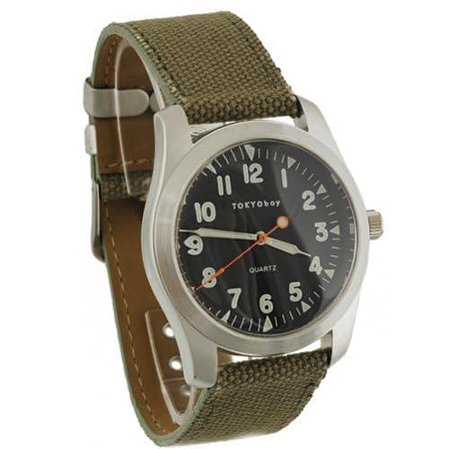 TOKYO BAY- Green Basic Watch