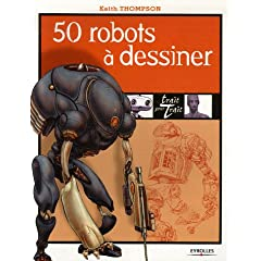 50 robots à dessiner