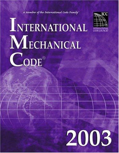 International Mechanical Code 2003 (International Mechanical Code)