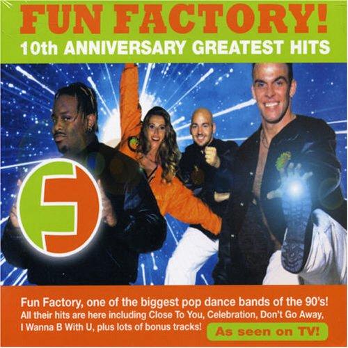FUN FACTORY - 10th Anniversary Greatest Hits - Zortam Music