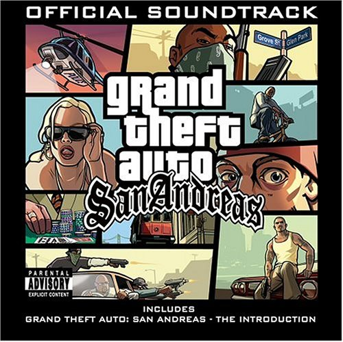 Original album cover of Grand Theft Auto: San Andreas by Various Artists