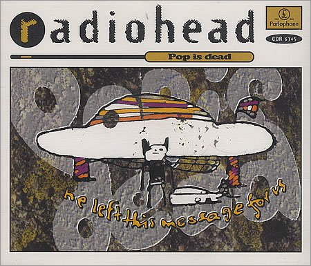 Radiohead - Stop Whispering (Remix) / Creep (Acoustic) / Pop Is Dead / Inside My Head (Live) - 4 track EP - Zortam Music
