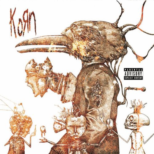 Untitled by Korn album cover