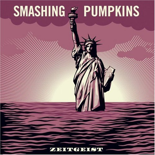 Album cover for Zeitgeist by the Smashing Pumpkins