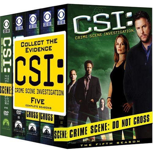 CSI on DVD.