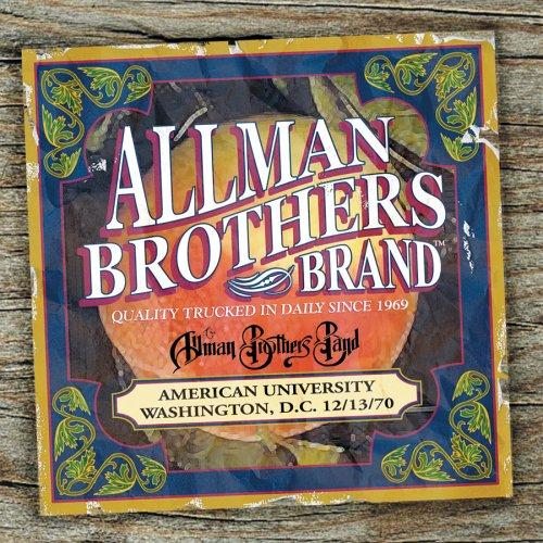 Allman Brothers Band - American University 12/13/70 - Zortam Music