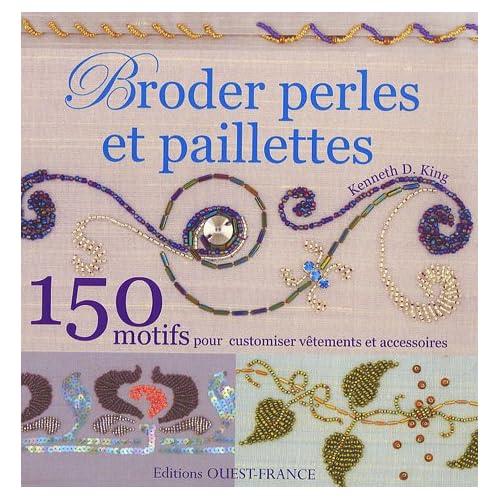 Broder perles et paillettes