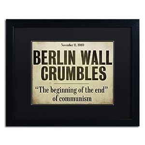 Berlin Wall headline