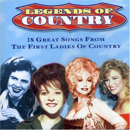 Various Artists - Legends of Country: the First Ladies - Zortam Music