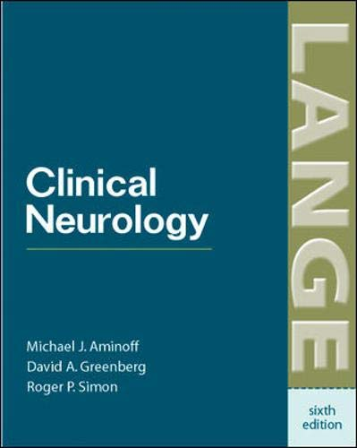 Clinical Neurology (Lange Medical Books)