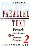 フランス語と英語の対訳本