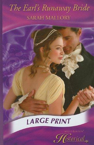 The Earl's Runaway Bride (Large print)-Sarah Mallory