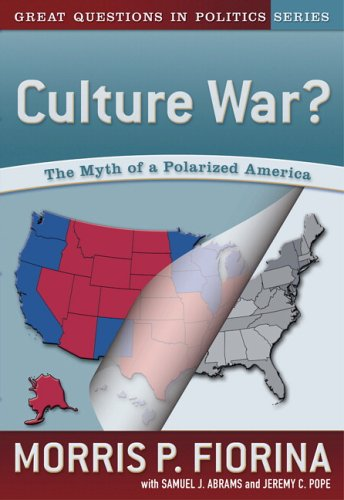 culture war the myth of a polarized america The myth of a polarized america) have been the leading advocates for the position that ordinary americans remain predominantly centrist and are alienated by elite polarization.