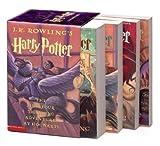 Harry Potter Boxed Set (US) (Paperback Book 1-4)(J. K. Rowling)