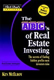 Rich Dad\'s Advisors®: The ABC\'s of Real Estate Investing : The Secrets of Finding Hidden Profits Most Investors Miss (Rich Dad\'s Advisors)