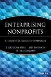 Enterprising Nonprofits By J. G. Dees