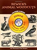 Bewick\'s Animal Woodcuts CD-ROM and Book (Electronic Clip Art)