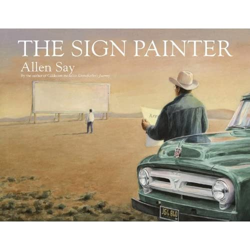The Sign Painter - Library Binding NEW Allen Say(Autho 2013-11-05