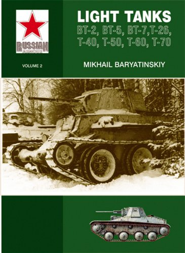 Light Tanks: T-27, T-38, BT, T-26, T-40, T-50, T-60, T-70 (Russian Armour)