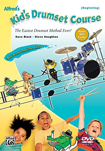 Alfred's Kid's Drumset Course (DVD)