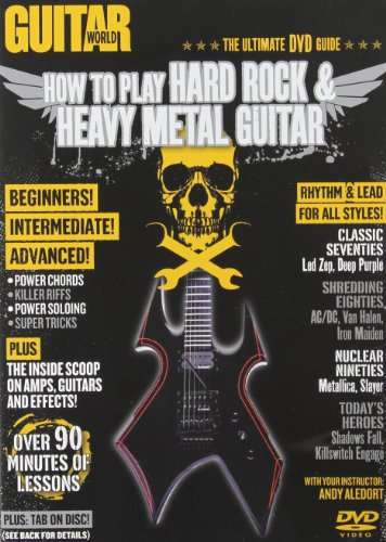 Guitar World -- How to Play Hard Rock & Heavy Metal Guitar (DVD)
